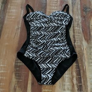 Emerald Bay One Piece Swimsuit Size 14